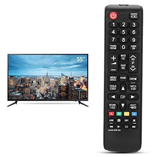 Afstandsbediening, AA59-00818A Vervanging Slimme afstandsbediening TV-controller voor Samsung, Multifunctionele vervanging, Laag stroomverbruik, lange transmissieafstand