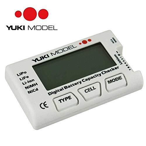 YUKI MODEL Digital Battery Capacity Checker | LiXX | NiXX | ESC-/Servotester | Balancer