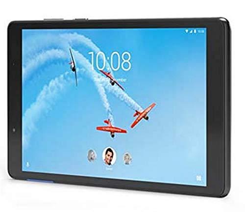 Lenovo TAB E8 8'HD tablette tactile Noire (Processeur Mediatek MT8163B 4Coeurs, 1Go de RAM, 16Go de stockage, Android 7.0)