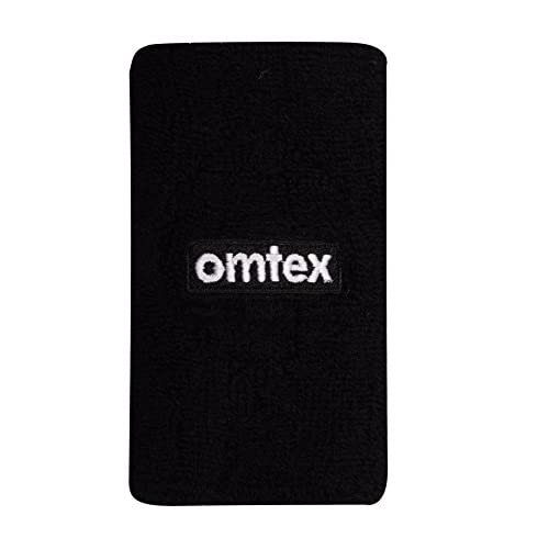 omtex Sweat Band Wrist Band/Wrist Support for Gym, Cricket, Running and Sports Activities 5 inches
