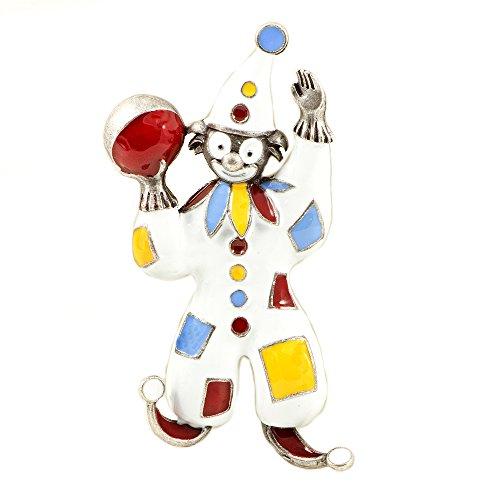 ba bijou-art Brosche Clown