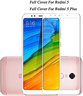 GHQQ 2pcs Full Cover Tempered Glass For Xiaomi Pocophone F1 Redmi 5 Plus 4A Note 4X 5A Prime Mi A1 Screen Protector Protec...