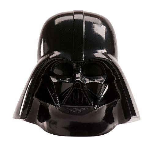 Dekora 204013 Star Wars Darth Vader Kinder Spardose mit Scheine aus Esspapier, Schwarz