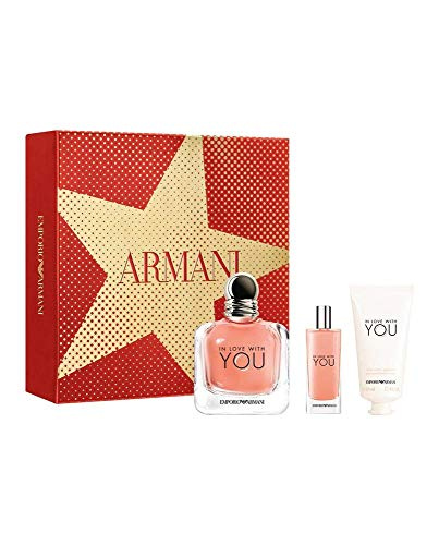 Armani In Love with you 100ml Eau de Parfum + 15ml Eau de Parfum + 50ml Hand Cream