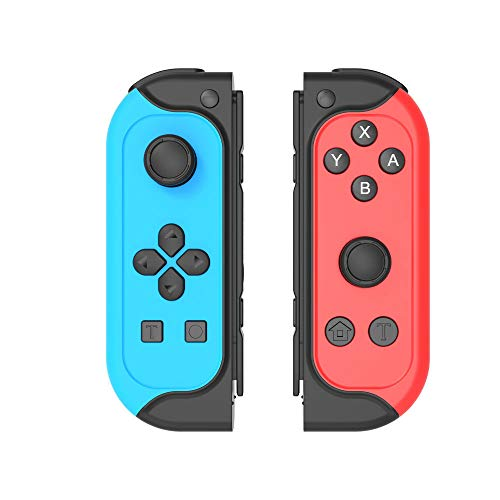 Joytorn Joy Pad Controller Replacement for Switch Joycons,Switch Remote Joypad Wireless Controllers,Switch Joycons with Turbo, Motion Control,Dual Shock