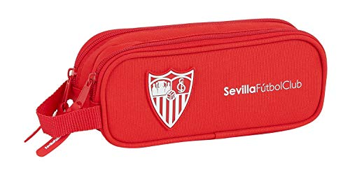 safta Portatodo Doble de Sevilla FC Corporativa, rojo, 210x60x80mm