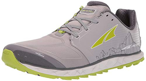 ALTRA Men's AFM1953G Superior 4 Trail Running Shoe, Gray/Lime - 10.5 D(M) US
