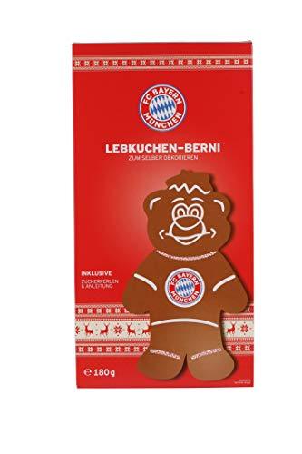FC Bayern Lebkuchen Berni | Fanartikel FC Bayern | FC Bayern München | 180g