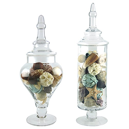 Apothecary Jar Set, Wedding Candy Buffet Containers