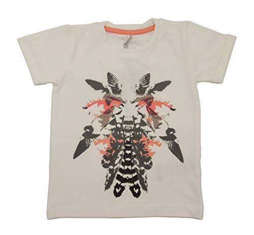 NAME IT T-shirt pour fille avec imprimé en coton bio Blanc - Blanc - 80 cm-9-12 mois