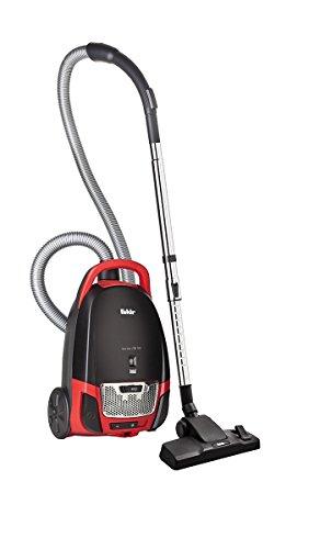 Fakir Red Vac TS 120 /  Bodenstaubsauger mit Beutel, Beutel-Staubsauger leise, Hygiene-Filter, leistungsstarker Motor,  niedriger Stromverbrauch – 700 Watt