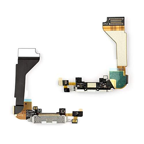 Flex Cable Reparación Piezas de Repuesto Compatible con iPhone 4 (Micrófono, Conector...