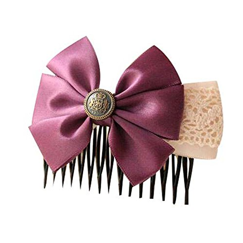 Lady Hair Décorations Beautiful Hair Clips For Fashion Girl Set of 2 Hair Combs