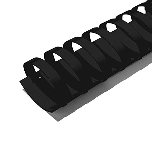 TruBind 44-mm (1-3/4-inch) Binding Combs - COMB1304 - Durable - 19-Ring - 11 Inches Long - Pre-Sized to Fit Letter-Sized Paper - Compatible with TruBind Binding Machines - 50 per Box