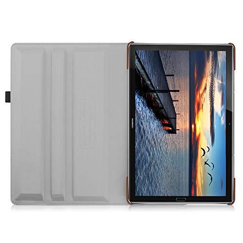 Fintie Huawei Mediapad M5 10.8 / M5 10.8 Pro Hülle - Schlank 360 Grad Rotierend Stand Schutzhülle mit Auto Schlaf/Wach Funktion für 10.8 Zoll Huawei MediaPad M5 2018 Modell Tablet PC, Denim grau - 6
