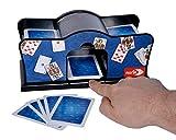 Noris 606154621 Accesorio para Juegos de Cartas Card shuffler Negro - Accesorios...
