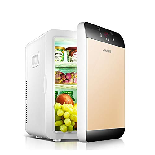 Great Features Of FJW Portable Car Refrigerator 20L Dual-core Mini Refrigerator Dual Voltage Cool an...