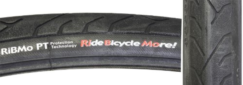 Panaracer Pana RiBMo Bicycle Tire with Predex Shield (Aramid Bead Folding, 700x28, Black)
