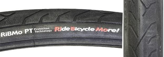 panaracer Pana RiBMo Bicycle Tire with Protex Shield (Aramid Bead Folding, 700x28, Black)