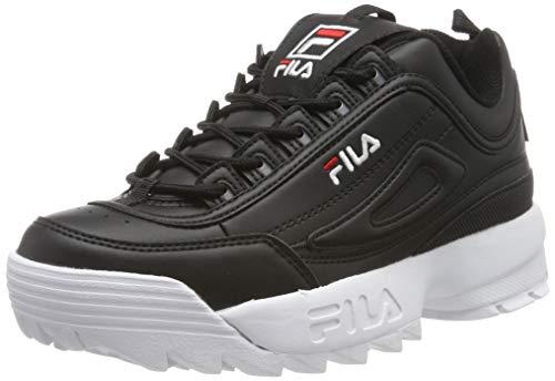 FILA Disruptor, Zapatillas para Mujer, Black, 39 EU