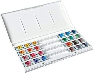 White Nights Watercolour Artists Watercolour Whole Pans, Plastic, Multi-colour, Set of 24