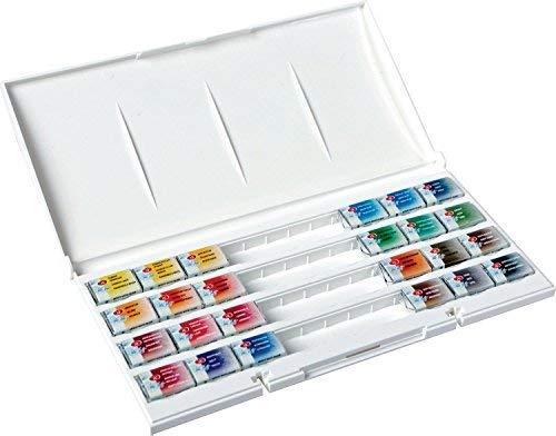 White Nights 1942090 - Aquarellfarbe, 24er Kunststoffkasten