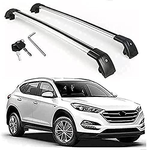 2 Piezas Coche Barras De Techo Portaequipajes Para Hyundai Tucson 2016-2021, Tuning...