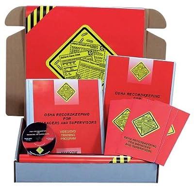 Marcom OSHA Recordkeeping for Managers DVD Kit - K0000159EO