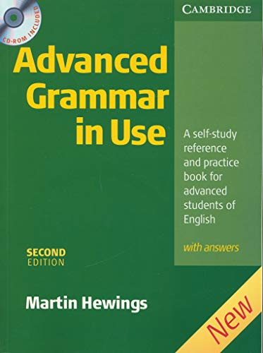 Advanced Grammar In Use - Second Edition (+ Key+ CD): A self-study reference and practice book for advanced studens of English