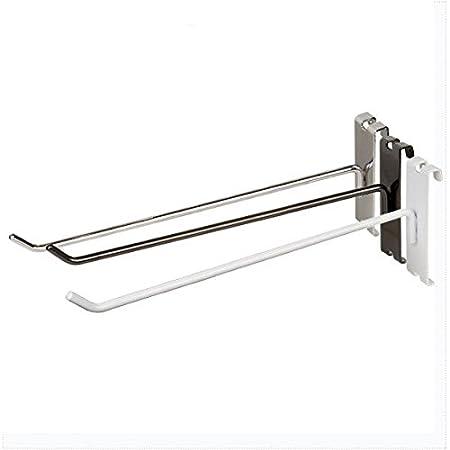 4 Gridwall Hooks Grid Panel Display Hangers 6 Pack Black