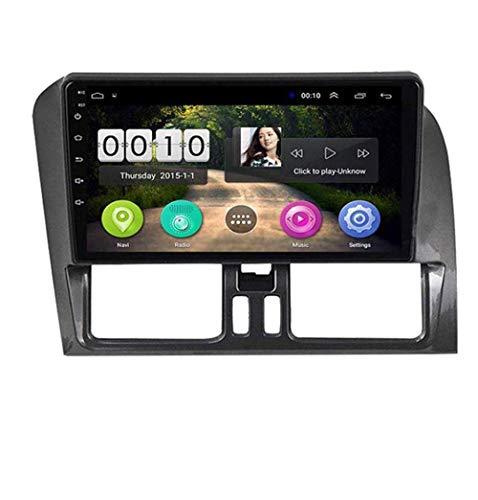 Android 8.1 Navegación GPS Auto Radio 9' 1080P HD Touch Screen Estéreo TV para Volvo XC6O 2009-2012, con control de volante Bluetooth Hands-Free Calls, 4G + WiFi 4G + 64G