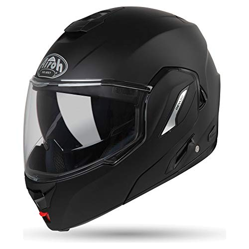 CASCO HELMET DEMI-JET JT COLOR BLACK MATT AIROH SIZE M