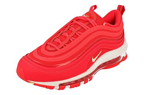 Nike Donne Air Max 97 SE Running Trainers CI9091 Sneakers Scarpe (UK 4 US 6.5 EU 37.5, Red Orbit Volt White 600)