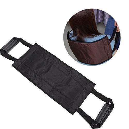 Cinturón elevador de enfermería para sillas de ruedas con manijas dobles, soporte portátil Cinturón de asistencia para pacientes ancianos Protección de la cintura Transferencia de cama Cinturón móvil