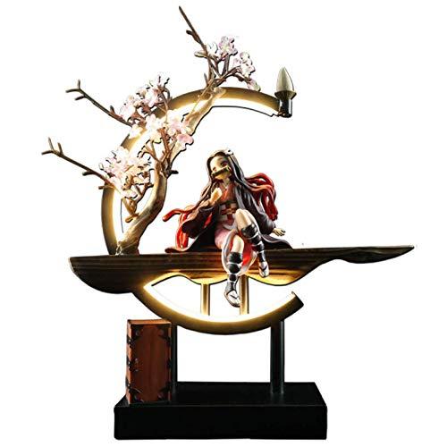 JXINGY 35 Cm Pollici Demon Slayer Kimetsu No Yaiba Anime Figure Nezuko Kamado PVC Statue Action Figure Modello Giocattolo da Collezione Decorazione