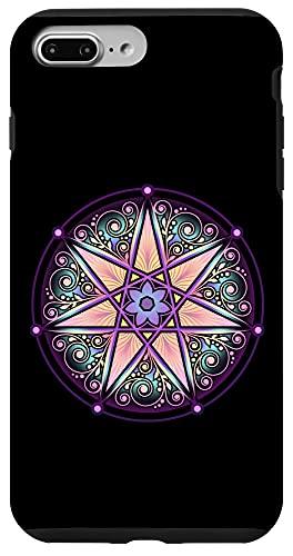 iPhone 7 Plus/8 Plus Faery Star Elven Fairy Celtic Magic Occult Heptagram Tarot Case
