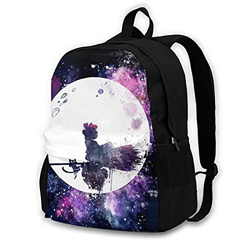 Anime Kiki's Delivery Service Adult Backpack Unisex Polyester Casual Backpacks Travel School Game Bag