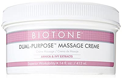 Biotone Dual Purpose Massage Cream - 14 Ounce Jar