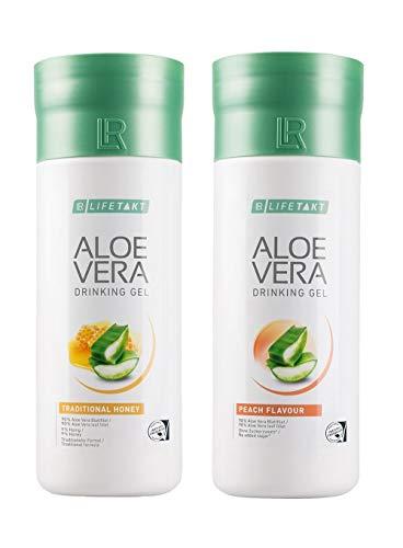 LR Aloe Vera Trinkgel Pfirsich + Honig Set 2x1000 ml (versandkostenfrei) Honey+Peach