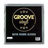 "50 Vinyl Outer Record Sleeves | 13"" x 13"" 