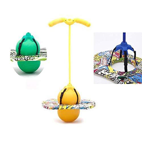 XIAOYAN Hüpfstange Pogo Jumper Ball, Pogo-Trichter-Pumpe springende Ball Fitness und Unterhaltung Ball Jump Trick Bounce Board Pogo-Stick Jumping Air Tritt Pogo-Stick