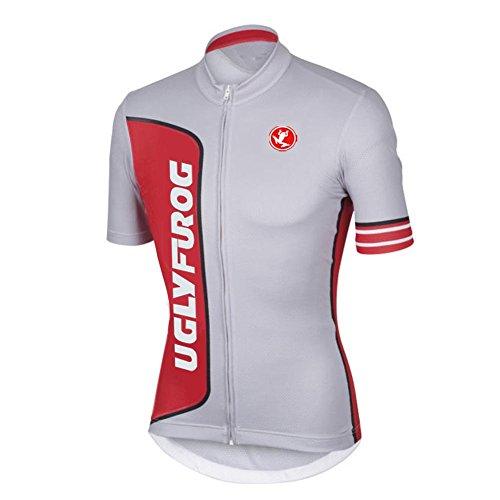 Uglyfrog Bike Wear Short Sleeve Cycling Jersey Men's Summer Style Sports Wear Mountain Bike/MTB Shirt Biking Cycle Tops Racing Bicycle Clothes UKHDX10