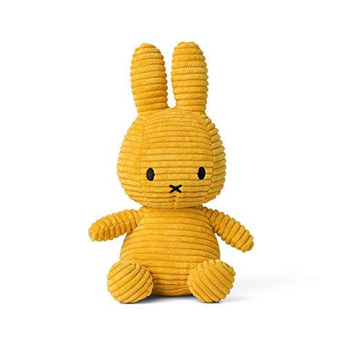 Diverse Miffy Cord-Plüschfigur (24cm) [senfgelb]
