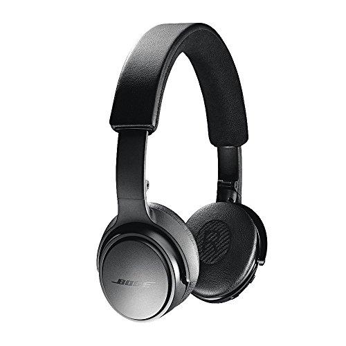 Bose SoundLink On-Ear Bluetooth Headphones with Microphone, Triple Black (Renewed)