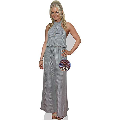 Celebrity Cutouts Hannah Spearritt (Long Dress) Taille Mini