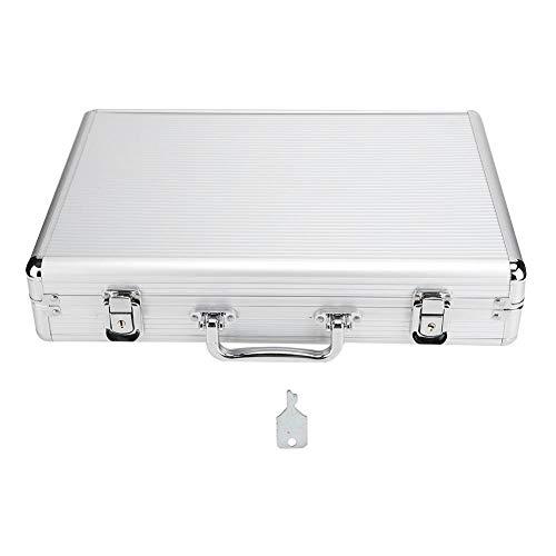 Aluminium Uhrenhalter Box, Uhrenvitrine 24 Grid Uhren Display Koffer, Geburtstag bietet viel Platz für Sonnenbrillen Ring