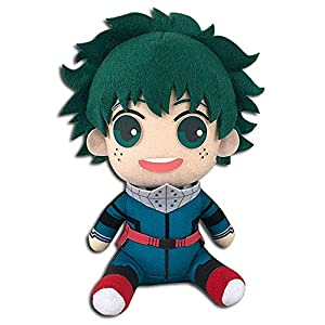 Great Eastern Entertainment My Hero Academia - Deku Hero Costume 2Nd Ver Sitting Plush 7'' - 41OBA3I9F9L - Great Eastern Entertainment My Hero Academia – Deku Hero Costume 2Nd Ver Sitting Plush 7""