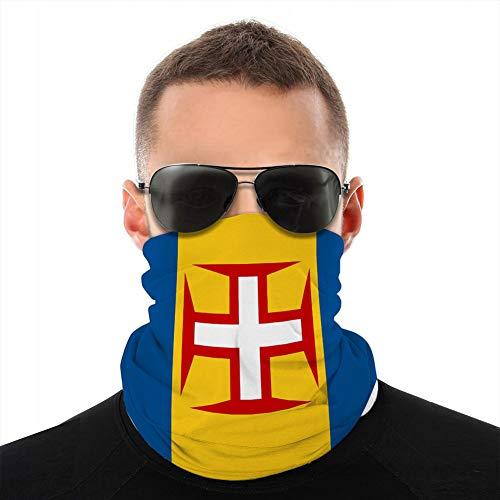 fgdhfgjhdgf Tube Neck Scarf Cover Outdoor UV Protection Party Cover Madeira Flag Tube Balaclava
