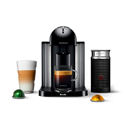 Breville BNV250BLK1BUC1 Vertuo Coffee and Espresso Machine, normal, Black