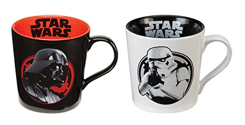 Star Wars Darth Vader and Stormtrooper Coffee Mug Set